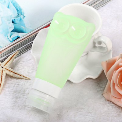 T-6 83ml Women Silicone Makeup Lotion Bottle Set