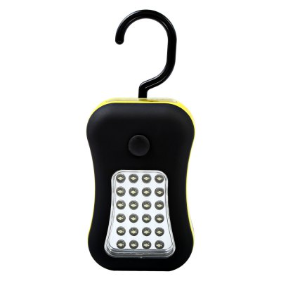 24 + 4 LED 100LM Outdoor Camping Lamp with Hook