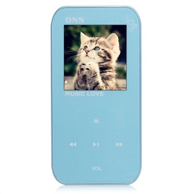 ONN Q2 HiFi Music MP3 Player 8G Storage with Earphones