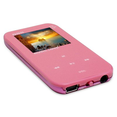 ONN Q2 HiFi Music MP3 Player 8G Storage with EarphonesMP3 &amp; MP4 Players<br>ONN Q2 HiFi Music MP3 Player 8G Storage with Earphones<br><br>Model: Q2<br>Color: Black,Blue,Pink,White<br>Interface: 3.5mm audio jack<br>Optional Language : English,Simplified Chinese,Traditional Chinese<br>FM radio: Yes<br>Storage memory capacity : 8GB<br>Screen size: 1.5 inch<br>Audio support : APE,FLAC,MP3,WAV,WMA<br>E-book support : TXT<br>Picture support : JPEG<br>Product weight: 0.100 kg<br>Package weight: 0.140 kg<br>Product size (L x W x H): 8.00 x 3.70 x 7.40 cm / 3.15 x 1.46 x 2.91 inches<br>Package size (L x W x H): 2.00 x 5.00 x 10.00 cm / 0.79 x 1.97 x 3.94 inches<br>Package Contents: 1 x MP3, 1 x Earphones, 1 x USB Cable, 1 x English User Manual