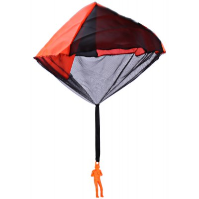 Hand Throwing Parachute