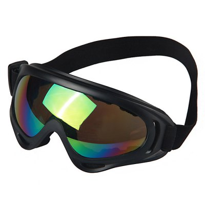 X400 Motorcycle Bike Cycling Wind Visor Glasses GogglesMotorcycle Goggles &amp; Sunglasses<br>X400 Motorcycle Bike Cycling Wind Visor Glasses Goggles<br><br>Accessories type: Motorcycle Goggles<br>Color: Multi<br>Gender: Universal<br>Package Contents: 1 x Motorcycle Goggles<br>Package size (L x W x H): 22.00 x 12.00 x 7.00 cm / 8.66 x 4.72 x 2.76 inches<br>Package weight: 0.0950 kg<br>Product size (L x W x H): 17.00 x 8.00 x 3.00 cm / 6.69 x 3.15 x 1.18 inches<br>Product weight: 0.0700 kg<br>Size: One Size Fits All