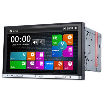 DJ8020 8 Inch Double Din WCE Car DVD Stereo Player