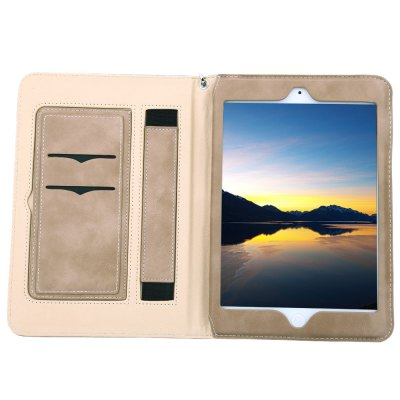 Multifunction Leather Case for iPad Mini 4iPad Cases/Covers<br>Multifunction Leather Case for iPad Mini 4<br><br>Features: Cases with Stand,Full Body Cases,With Lanyard<br>Material: PU Leather<br>Style: Solid Color<br>Product weight: 0.179 kg<br>Package weight: 0.193 kg<br>Product size (L x W x H): 20.30 x 14.30 x 1.70 cm / 7.99 x 5.63 x 0.67 inches<br>Package size (L x W x H): 21.00 x 15.00 x 2.50 cm / 8.27 x 5.91 x 0.98 inches<br>Package Contents: 1 x Stylish Leather Holder Multifunction Card Slot Case with Lanyard for iPad Mini 4