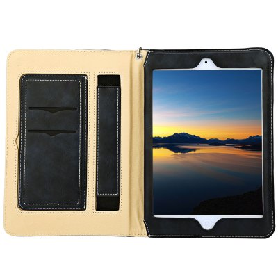 Multifunction Leather Case for iPad AiriPad Cases/Covers<br>Multifunction Leather Case for iPad Air<br><br>Features: Cases with Stand,Full Body Cases,With Lanyard<br>Material: PU Leather<br>Style: Solid Color<br>Product weight: 0.247 kg<br>Package weight: 0.264 kg<br>Product size (L x W x H): 25.30 x 17.90 x 1.70 cm / 9.96 x 7.05 x 0.67 inches<br>Package size (L x W x H): 26.00 x 18.50 x 2.50 cm / 10.24 x 7.28 x 0.98 inches<br>Package Contents: 1 x Stylish Leather Holder Multifunction Card Slot Case with Lanyard for iPad Air