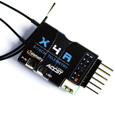 Frsky X4R - SB 2.4G 3 / 16 Channel Receiver with Smart Port SBUS Accessory for RC Hobby