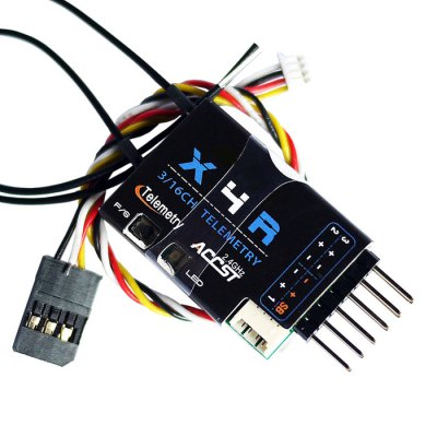 Frsky X4R - SB 2.4G 3 / 16 Channel Receiver with Smart Port SBUS