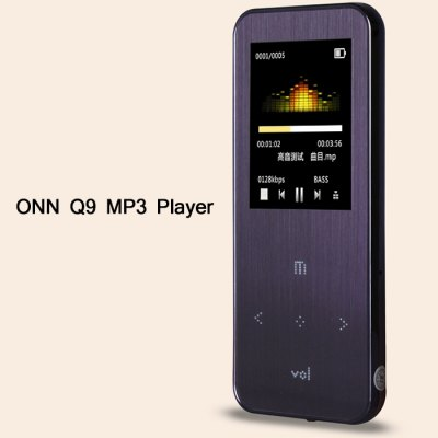 ONN Q9 MP3 Player 8G Storage