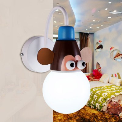 Cartoon Monkey LED Wall Light Kids Bedroom KindergartenBedroom lighting<br>Cartoon Monkey LED Wall Light Kids Bedroom Kindergarten<br><br>Bulb Included: Yes<br>CCT/Wavelength: 3000K,6000K<br>Input Voltage: AC 220V<br>LED Lifespan: 80000h<br>Luminous Flux: 1200LM<br>Optional Light Color: Warm White,White<br>Package Contents: 1 x Cartoon Wall Light<br>Package size (L x W x H): 20.30 x 20.30 x 19.00 cm / 7.99 x 7.99 x 7.48 inches<br>Package weight: 1.080 kg<br>Power Output: 18W<br>Product size (L x W x H): 19.30 x 19.30 x 16.00 cm / 7.60 x 7.60 x 6.30 inches<br>Product weight: 1.000 kg<br>Quantity of Spots: 1<br>Shade Material: Acrylic<br>Type: Wall Light