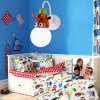 cheap Cartoon Giraffe LED Wall Light Kids Bedroom Kindergarten