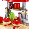 Kids Kitchen Cookware Toy with Light Sound Effect for sale