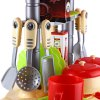 best Kids Kitchen Cookware Toy with Light Sound Effect