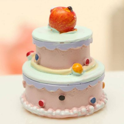 Super Tiny 2.5cm Height Realistic Dessert Cake Decoration