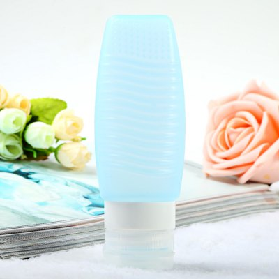 T5 78ml Women Silicone Makeup Lotion Bottle