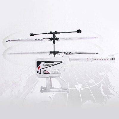 6010 Infrared LED Light 3.5CH Transforming Helicopter Built-in Gyro