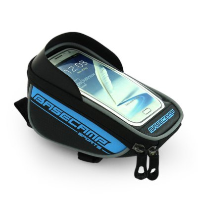 BaseCamp BC-305 Bicycle Screen Touch Front Tube Bag