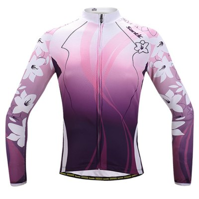 Santic Lady Cycling Long Sleeve T-Shirt