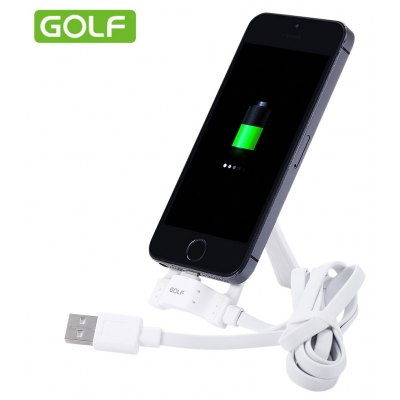 Golf Multifunction Data Cable with Holder for iPhone 6
