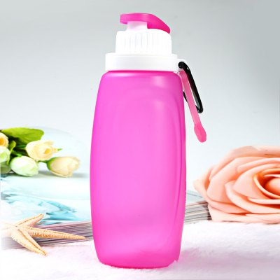 Myfriday S3 320ml Portable Silicone Folding Water Bottle