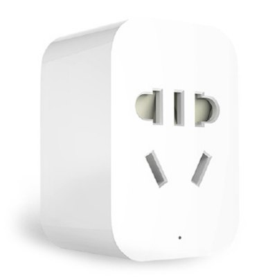 Original Xiaomi Mi Smart WiFi Socket - ZigBee VersionPower Strips<br>Original Xiaomi Mi Smart WiFi Socket - ZigBee Version<br><br>Brands: Xiaomi<br>Current : 10A<br>Material             : 750 Degree High Temperature Fire Resistant Materials<br>Package Contents: 1 x Xiaomi Socket<br>Package size (L x W x H): 13.00 x 13.00 x 6.00 cm / 5.12 x 5.12 x 2.36 inches<br>Package weight: 0.080 kg<br>Product size (L x W x H): 5.70 x 4.00 x 3.10 cm / 2.24 x 1.57 x 1.22 inches<br>Product weight: 0.015 kg