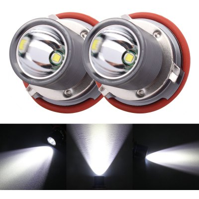 1 Pair E39 LED 12 - 24V 10W 6500K 1200lm Car Headlight for BMW