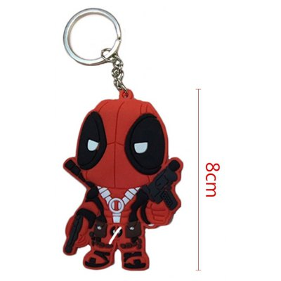 Cute Soldier Key Chain Hanging Pendant Movie Product Key Bag Decoration