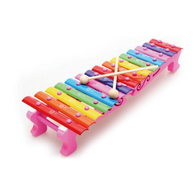 15 Notes Hand Struck Wooden Xylophone Music Instrument Toy
