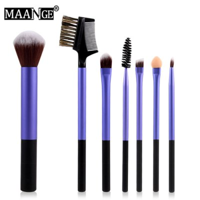 MAANGE MAG-614 7PCS Beauty Brush Soft Cosmetics Powder Makeup SetMakeup Brushes &amp; Tools<br>MAANGE MAG-614 7PCS Beauty Brush Soft Cosmetics Powder Makeup Set<br><br>Features: Easy to Carry,Environment Friendly,Lightweight,No Poison<br>Brush hair: Nylon<br>Product weight: 0.190 kg<br>Package weight: 0.250 kg<br>Package size (L x W x H): 20.00 x 14.00 x 4.00 cm / 7.87 x 5.51 x 1.57 inches<br>Package Contents: 7 x Makeup Brush