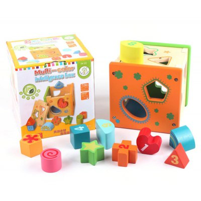 Colorful Intelligence Box with Pattern Block