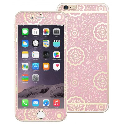 Angibabe Tempered Glass Screen Film Back Protector for iPhone 6 / 6S