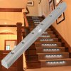PIR LED Stairs Light Battery Operated Indoor Stairway Cabinet Lighting for sale
