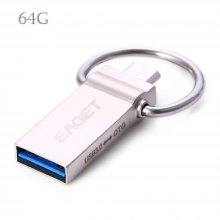 EAGET V90 USB 3.0 64GB Flash Drive OTG Smartphone USB Stick
