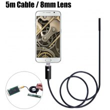 AN99-B5-8 2 in 1 8mm Lens Android PC Endoscope