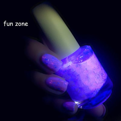 DIY Luminous Nail Polish