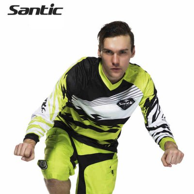 Santic MC02056 Male Cycling Long Sleeves T-shirt
