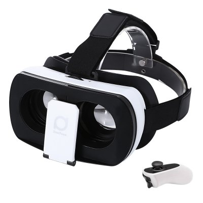 Deepoon V3 Virtual Reality 3D VR Glasses with Romote Controller