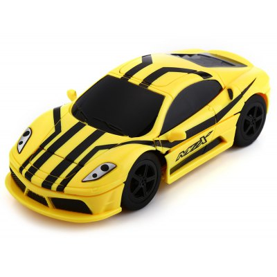 CREATE TOYS 8010 27MHz RC Transforming Car RTR Simulation Model with Light
