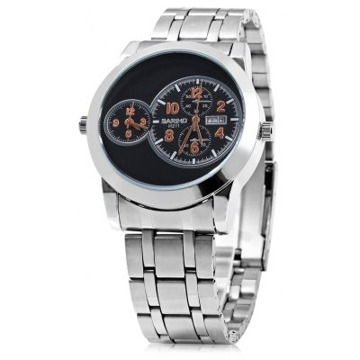Bariho H211 Date Day Display Dual Movt Men Quartz Watch