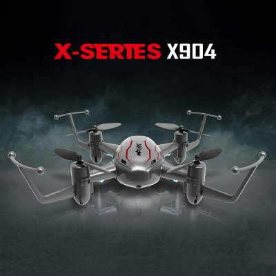 MJX X904 2.4G 4CH 6 Axis Gyro Quadcopter 3D Flip with Light RTF