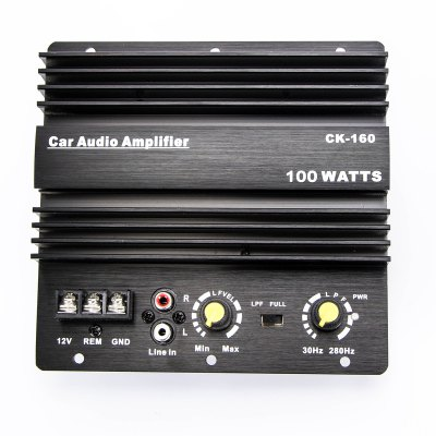 CK160 DC 12V 100W Car Audio Amplifier