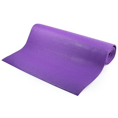 173 x 61cm Soft Yoga MatYoga Accessories<br>173 x 61cm Soft Yoga Mat<br><br>Color: Blue,Green,Pink,Purple<br>Material: PVC<br>Thickness: 5mm<br>Size: 173 x 61cm<br>Product weight: 1.152 kg<br>Package weight: 1.182 kg<br>Product size: 173.00 x 61.00 x 0.50 cm / 68.11 x 24.02 x 0.20 inches<br>Package size: 61.00 x 12.00 x 10.50 cm / 24.02 x 4.72 x 4.13 inches<br>Package Content: 1 x Soft Yoga Mat