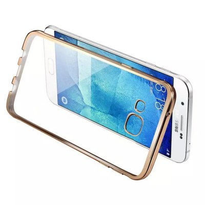 ФОТО ASLING TPU Soft Protective Case for Samsung Galaxy A9 Electroplated Frame