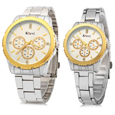 Ktevi K8001 Couple Japan Quartz Watch