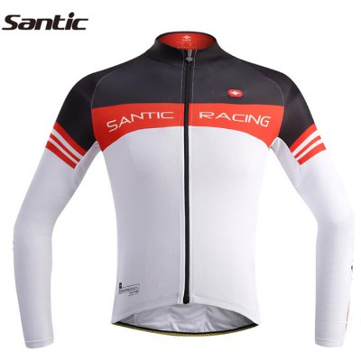 Santic M5C01063W Male Spring Cycling Long Sleeves