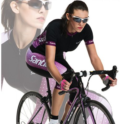 Santic LCT040 Female Cycling Short Sleeves