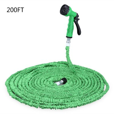 200FT Expandable Garden Water Hose with 7 Modes Spray Gun