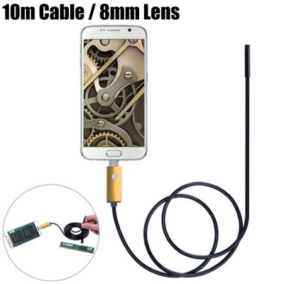 NV99-B10-8 2 in 1 8mm Lens Android PC Endoscope
