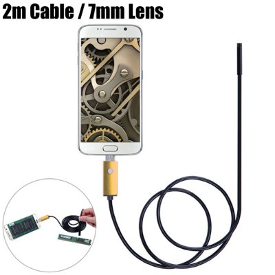 AN99-B2-7 2 in 1 7mm Lens Android PC Endoscope
