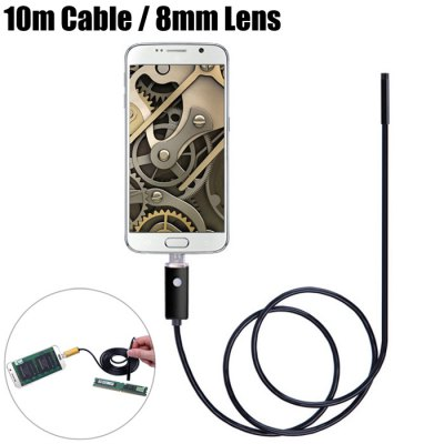 AN99-B10-8 2 in 1 8mm Lens Android PC Endoscope