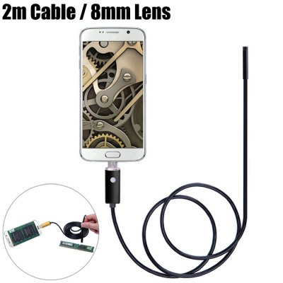 AN99-B2-8 2 in 1 8mm Lens Android PC Endoscope